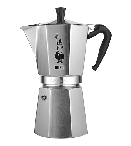 Stovetop Coffee Maker Gift : One of Italy?s great gifts to the world: the stove-top coffeemaker Live Like an Italian