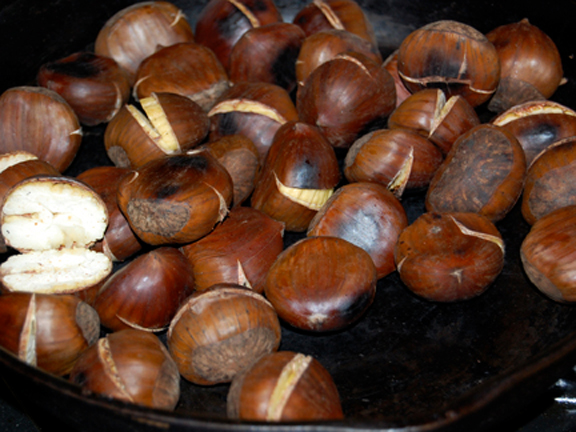 recipe roast chestnuts